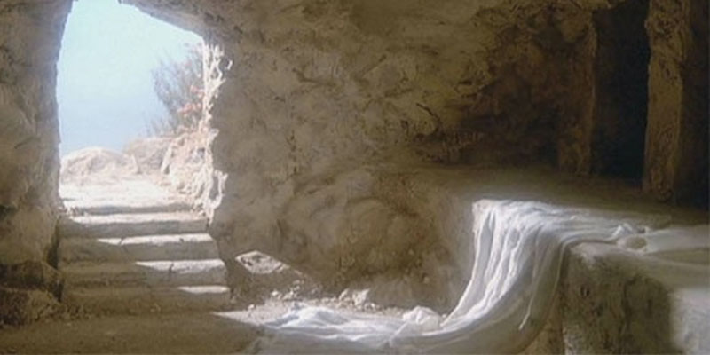 The Gospel good message and the empty tomb