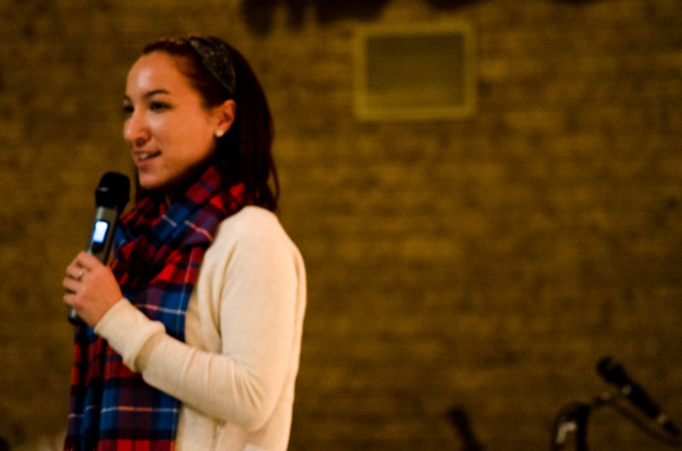 Melissa shares her testimony, one of many we heard.
