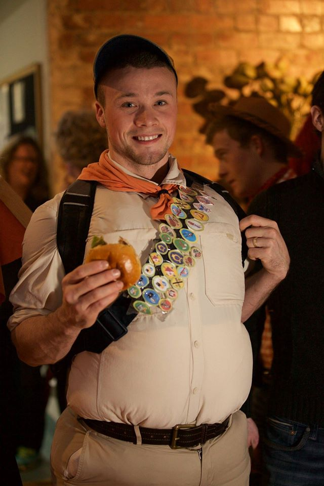 Russell from Up.