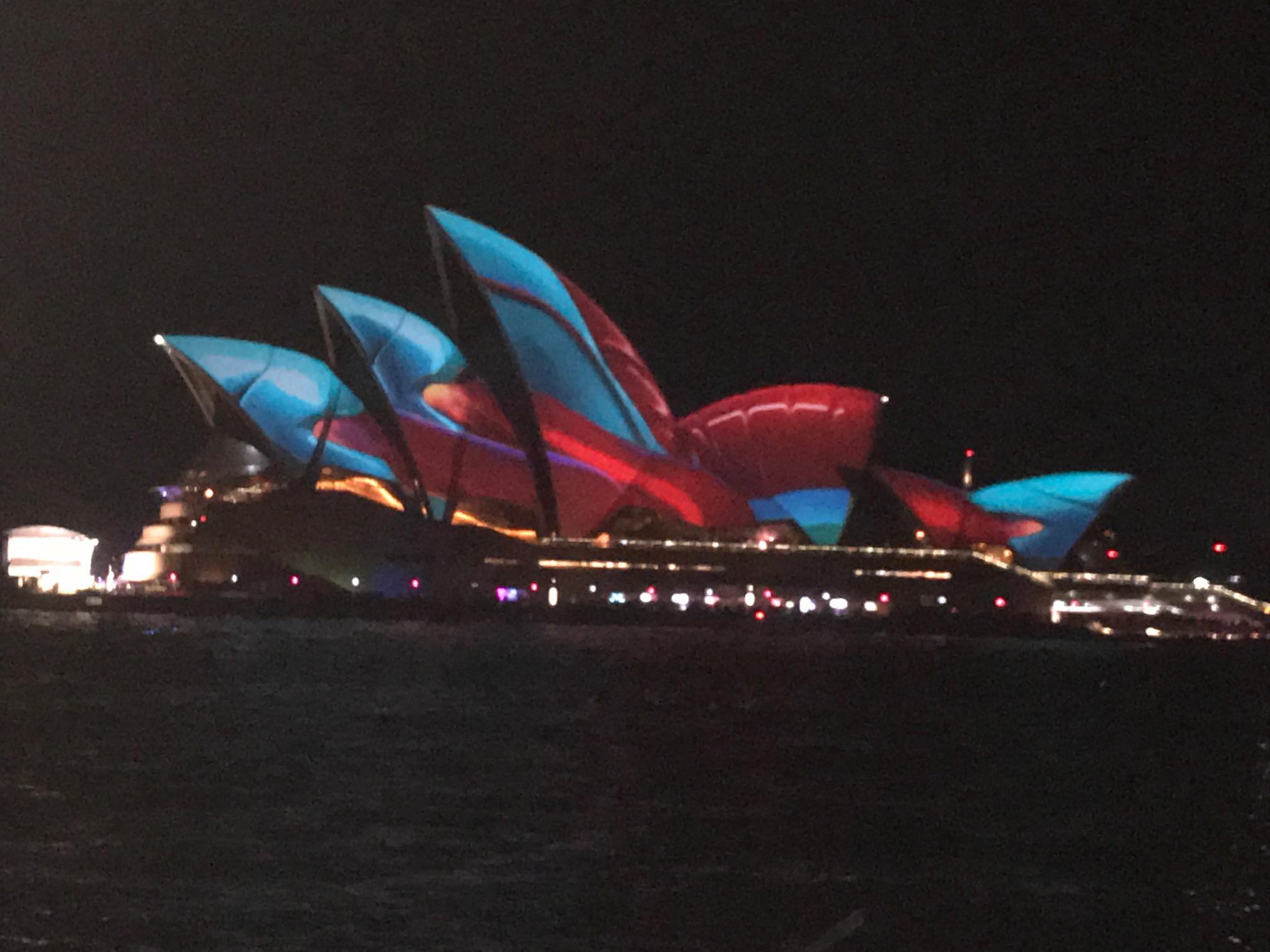 Vivid Sydney outreach cruise