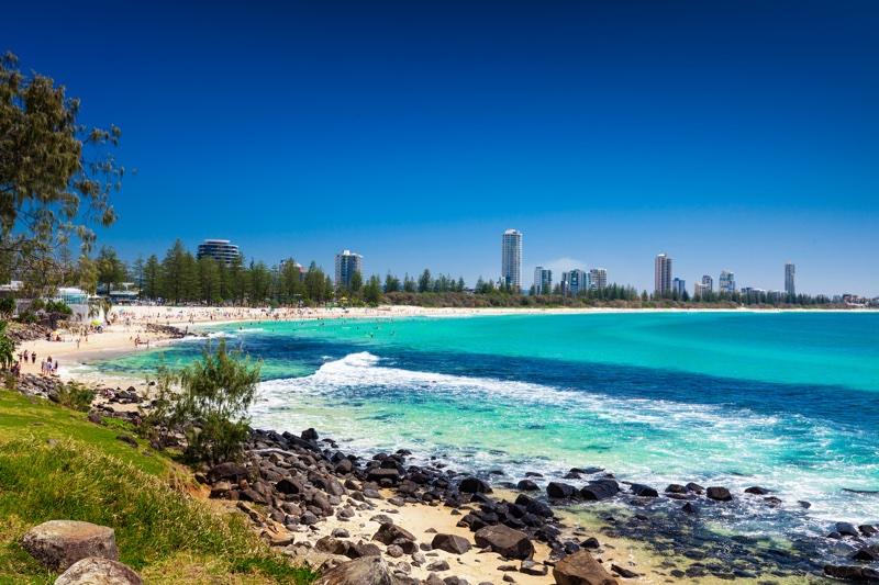 Brisbane visits Gold Coast