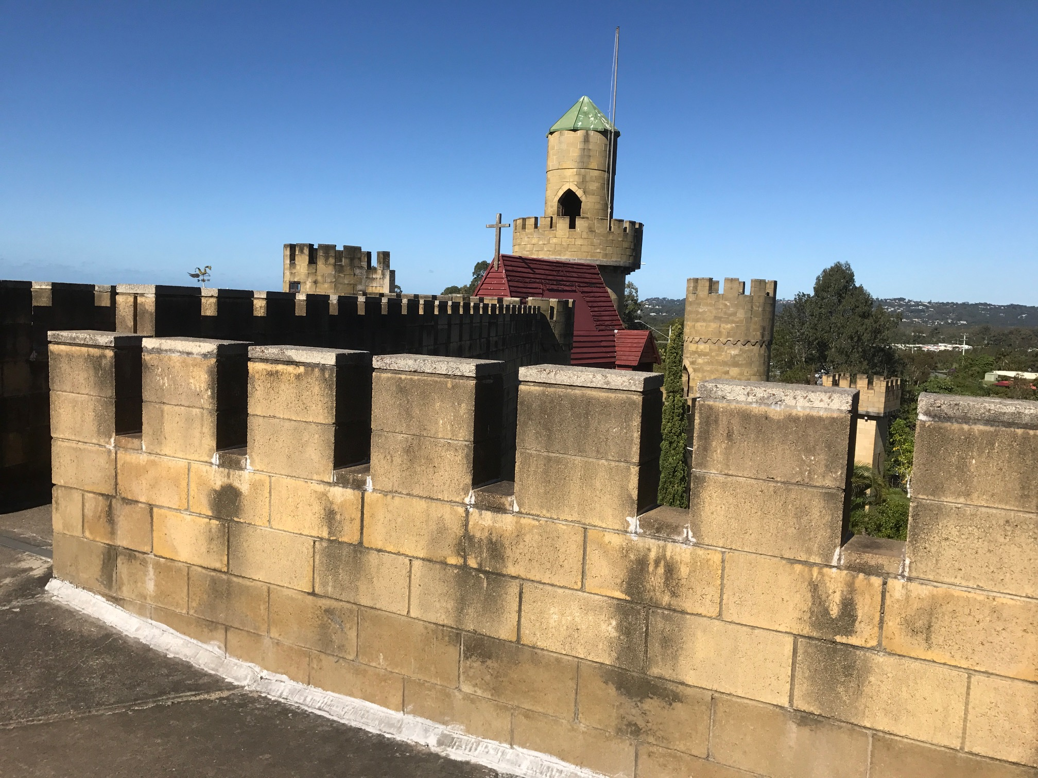 Sunshine Coast Castle Seizes Saints