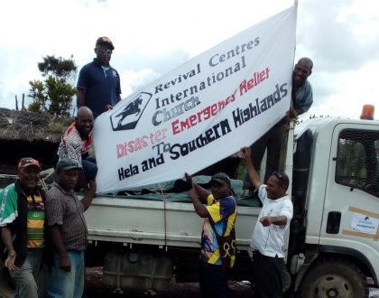 Earthquake Relief Arrives in PNG