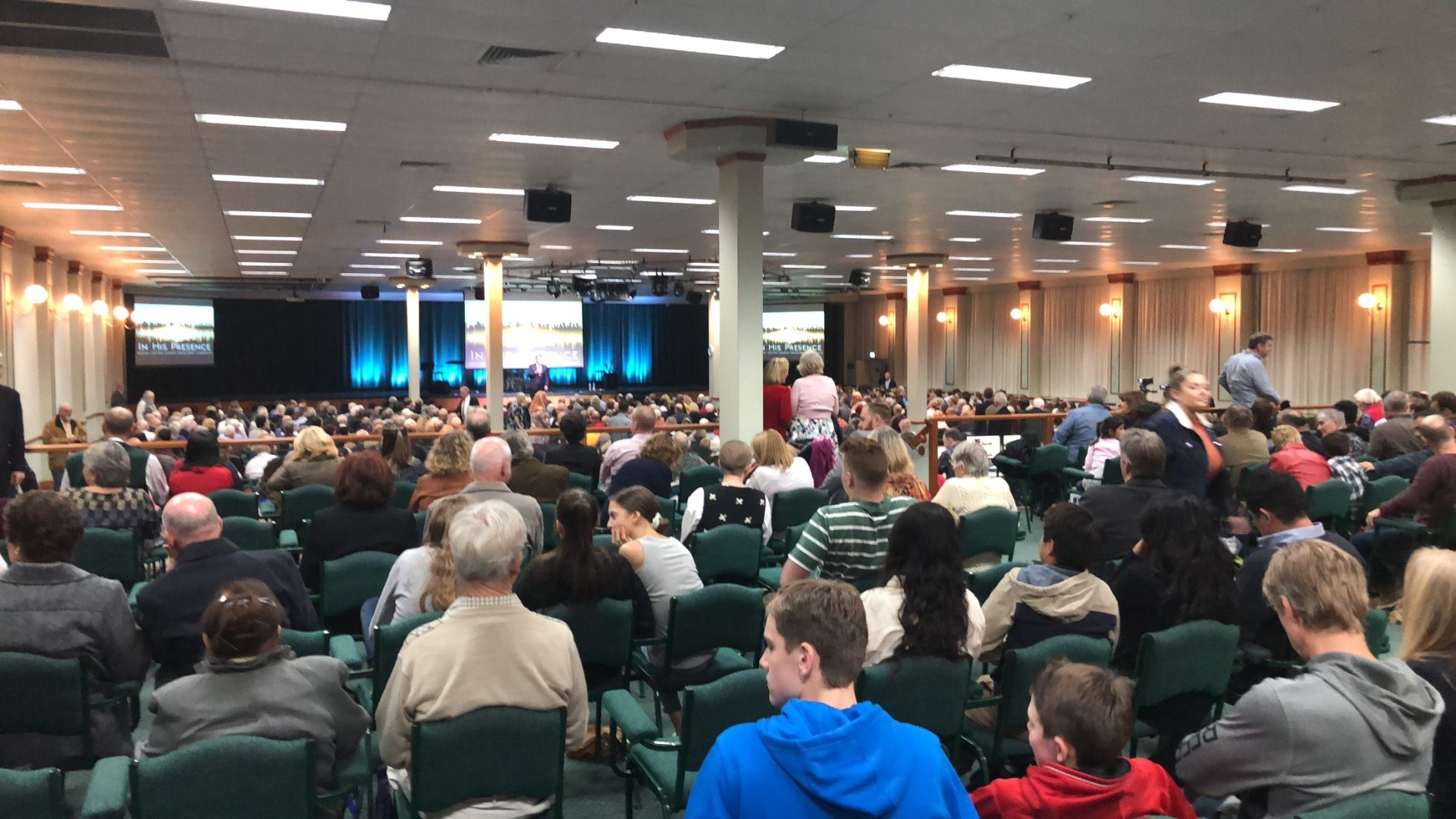 Melbourne Convention 'In His Presence'