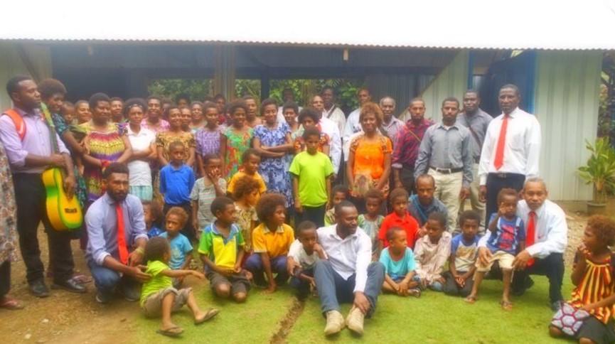 PNG Morobe Province Baptism