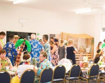 Newcastle Hawaiian Dinner Night