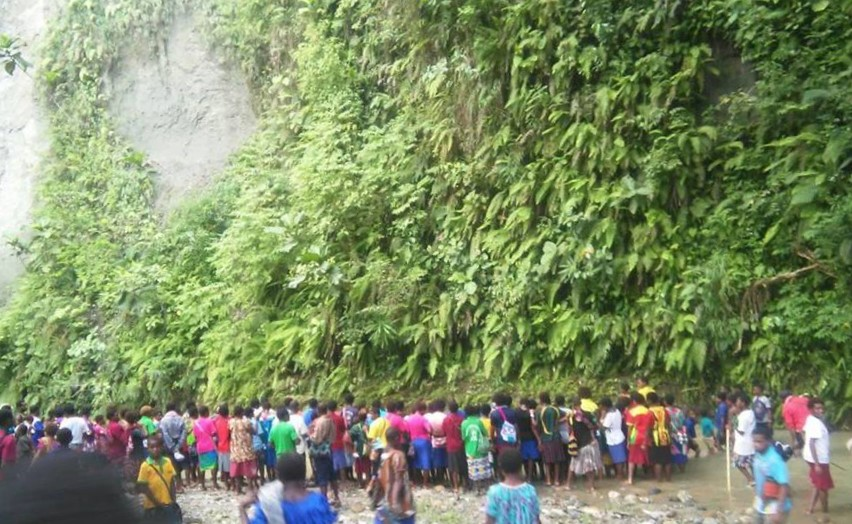 Maprik Zone PNG Christmas Camp