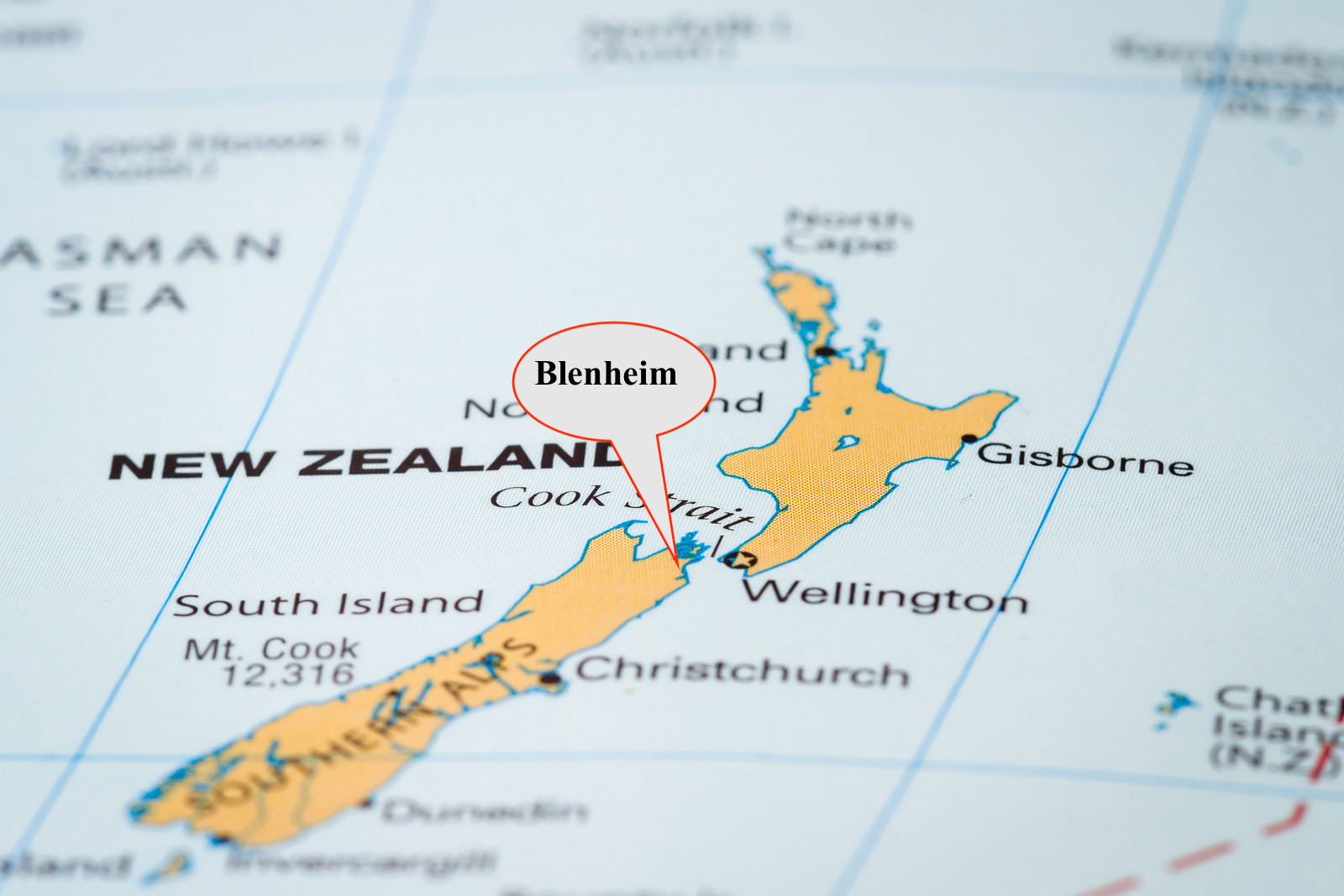 New Zealand On The Map.Blenheim New Zealand On A Map Revival Centres Church