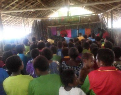 Drekikier Zone PNG Easter Camp