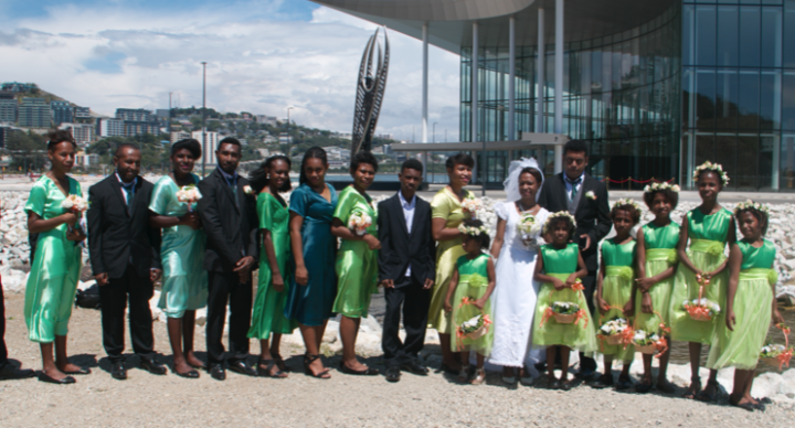 Port Moresby  - Wedding