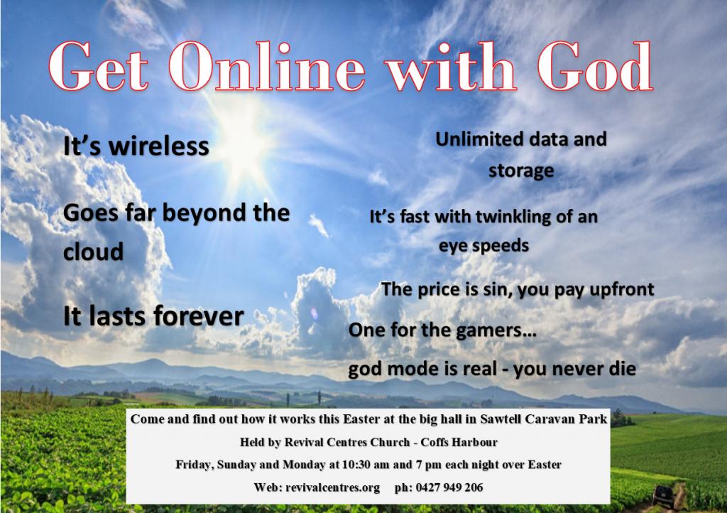 Get Online with God